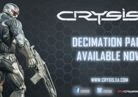 Crysis 2 Decimation Pack Disponível