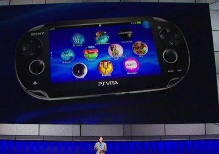 Playstation Vita Revelada