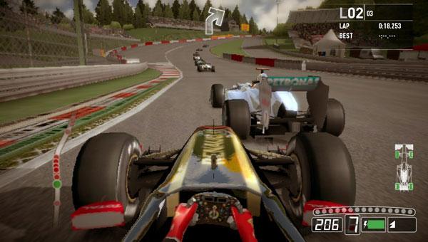 Tokyo Game Show 2011: F1 2011 Para Vita Apresentado
