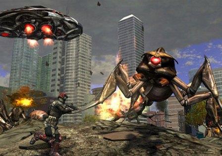 Earth Defense Force: Insect Armageddon Disponível no PC