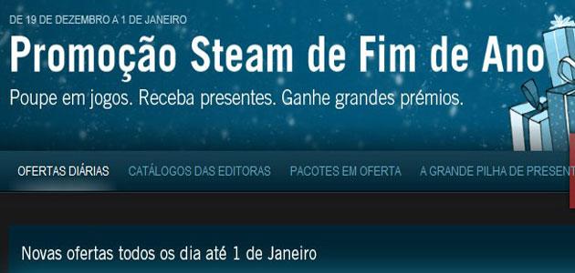 Steam: Mega-Promoção De Natal 2011 Começou!