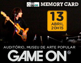 Game On - Memory Card