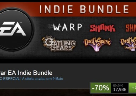 Poupa 70% no EA Indie Bundle