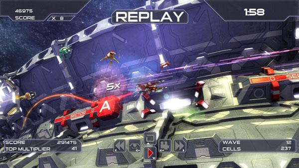 Orbitron Revolution Screen 1
