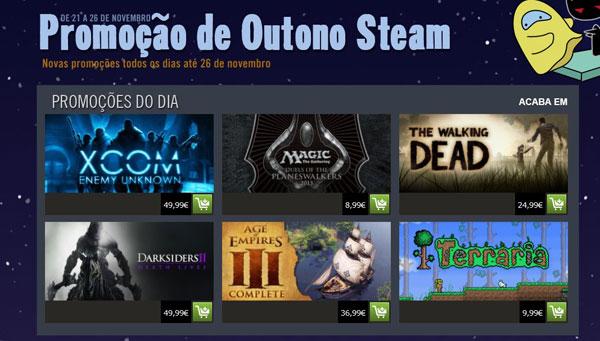 Steam: Mega-Promoção Outono 2012 Arrancou Hoje!