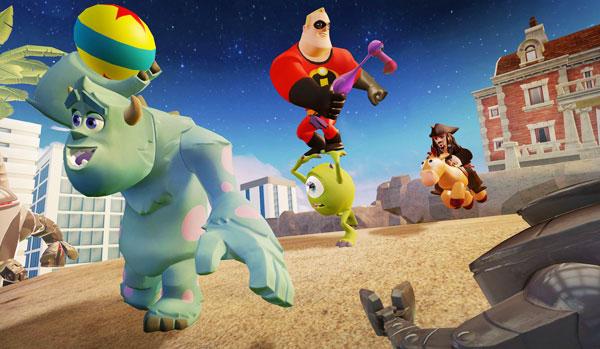 Disney Infinity, Jogos Violentos e Espionagem