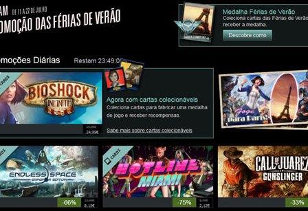 Steam: Arrancou a MEGA-Promoção de Verão