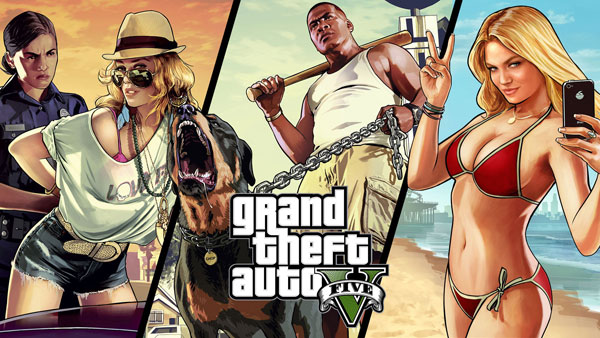 GTA V, Minecraft e Comando da Xbox One