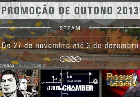 Steam: Arrancou a Promoção de Outono 2013