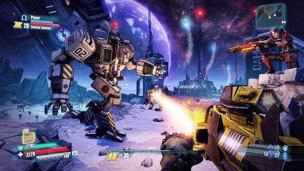 Borderlands The Pre-Sequel: Combate Lunar