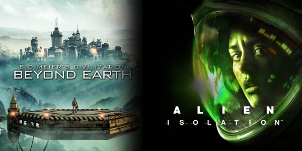 Giveaway: Civilization Beyond Earth & Alien Isolation