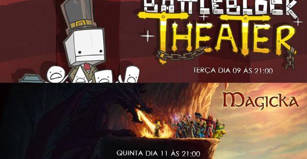Transmissões da Semana: Battleblock Theater e Magicka