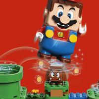 O Grupo LEGO e Nintendo revelam alguns detalhes incríveis de LEGO Super Mario