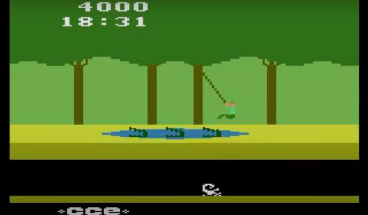 Pitfall on Atari