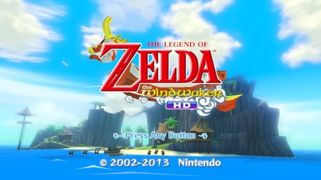 the legend of zelda the wind waker hd logo