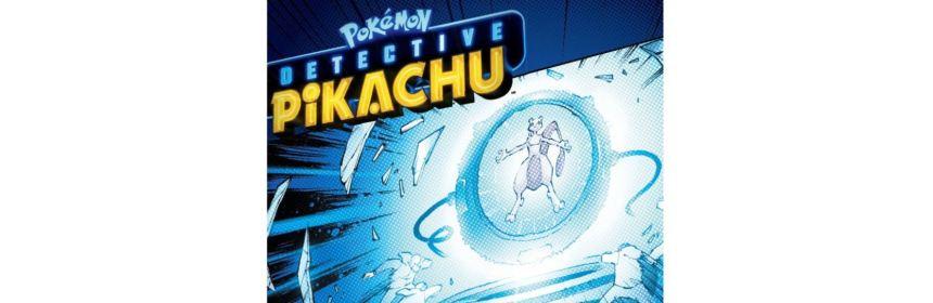 detective pikachu graphic novel release date logo