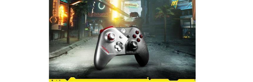 cyberpunk 2077 collector's edition xbox controller logo