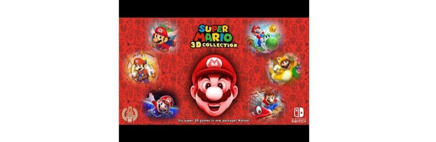 mario 35th anniversary collection title screen logo