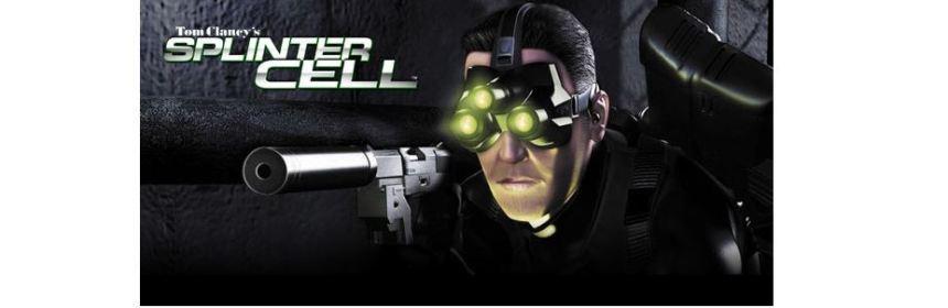 tom clancy splinter cell title screen logo