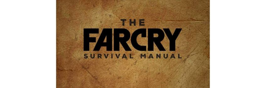 far cry survival manual title screen logo