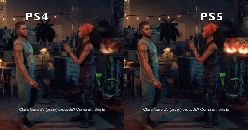Far Cry 6 PS4 vs PS5 Image