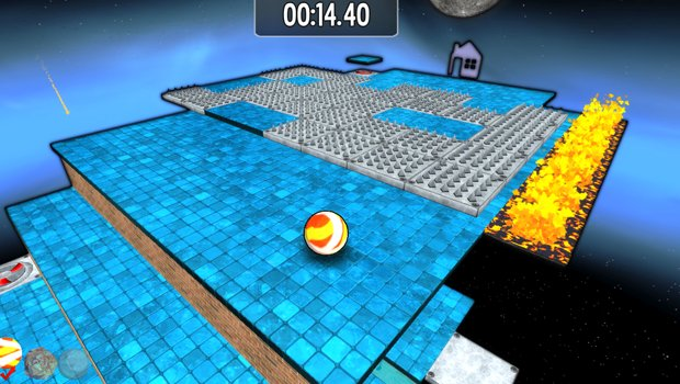 Mix Marble Madness With The Lost Vikings Lost Marbles Review GAMING TREND