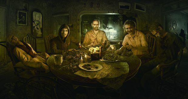 Image result for resident evil 7 welcome to the family son