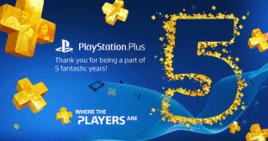 PS Plus 5 Jahre Gewinnspiele