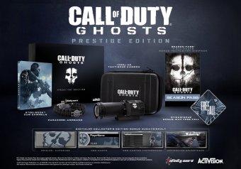 Schnäppchen CoD Ghost Special Edition Prestige Edition