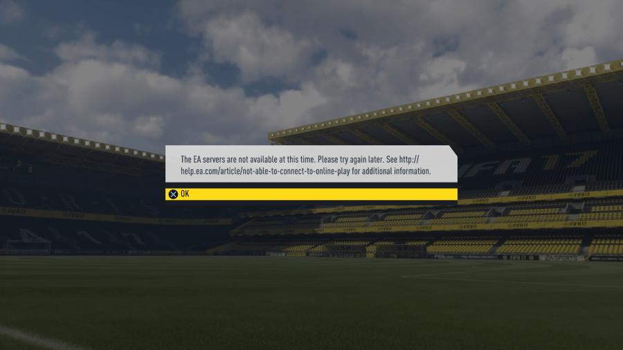 Die Server von EA sind down