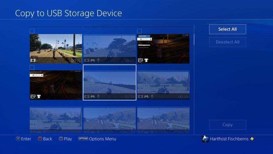 Aus nicht nachvollziehbaren Gründen lässt einen Rockstar nicht die Rockstar Editors Video via USB zu kopieren.