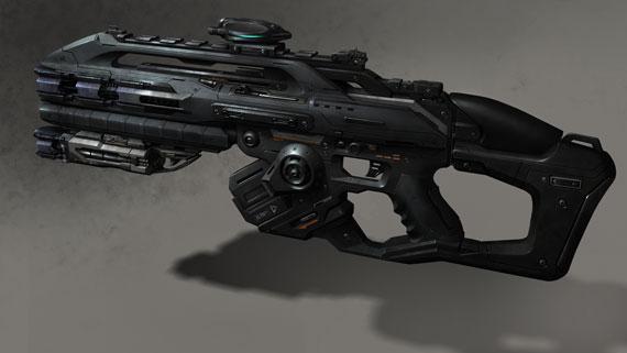 Star Wars Rifle Concept