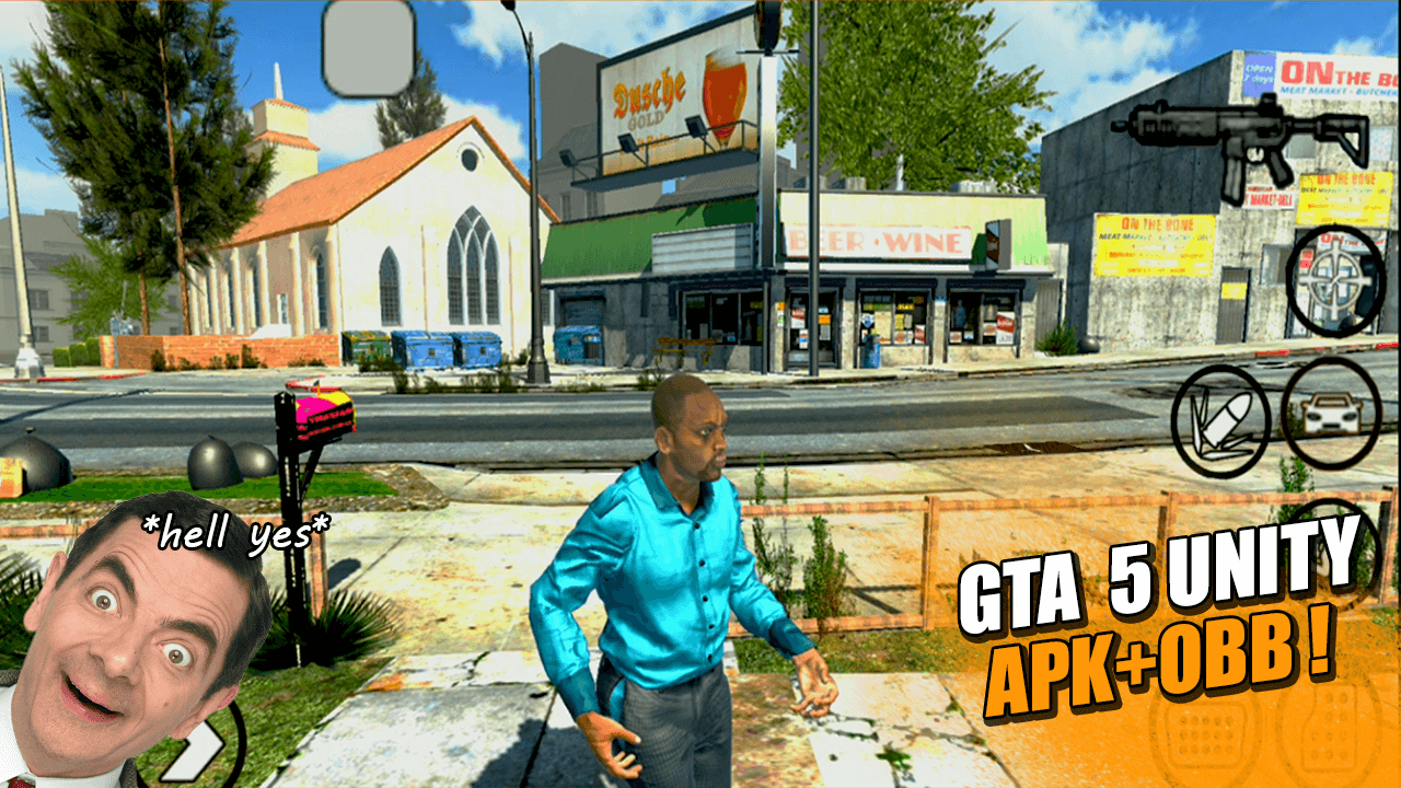 GTA 5 Unity Android APK – Highly Compressed