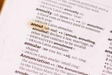What is an Annulment - Carlos Gamino