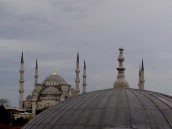 Mezquita Azul .
