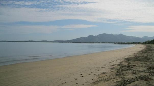 Playa , en Nadi .
