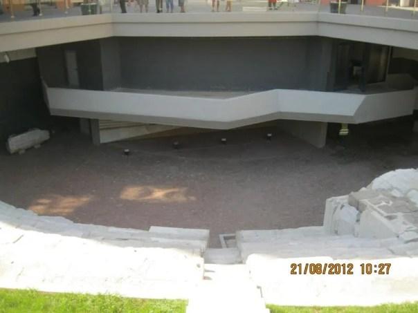 Teatro romano , en Plovdiv .