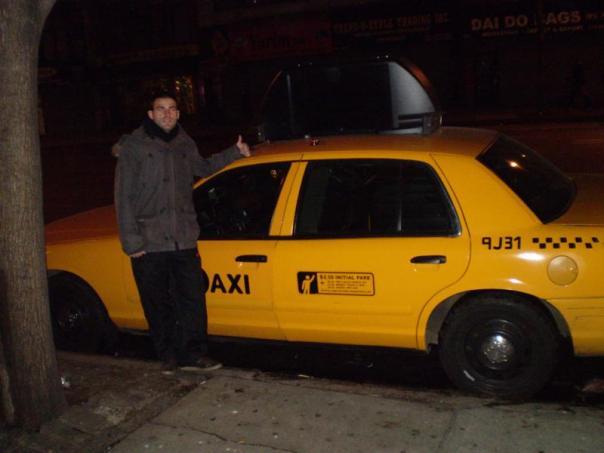 Taxi neoyorquino .