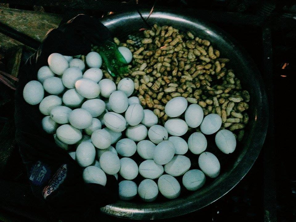 Balot. Street food in Southeast Asia