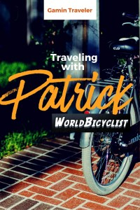Patrick Schroeder has been traveling the world for 6 years by bicycle.