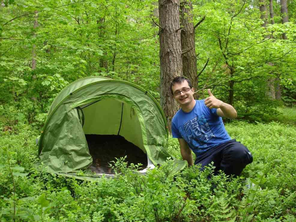 Autostop Magellan tent.