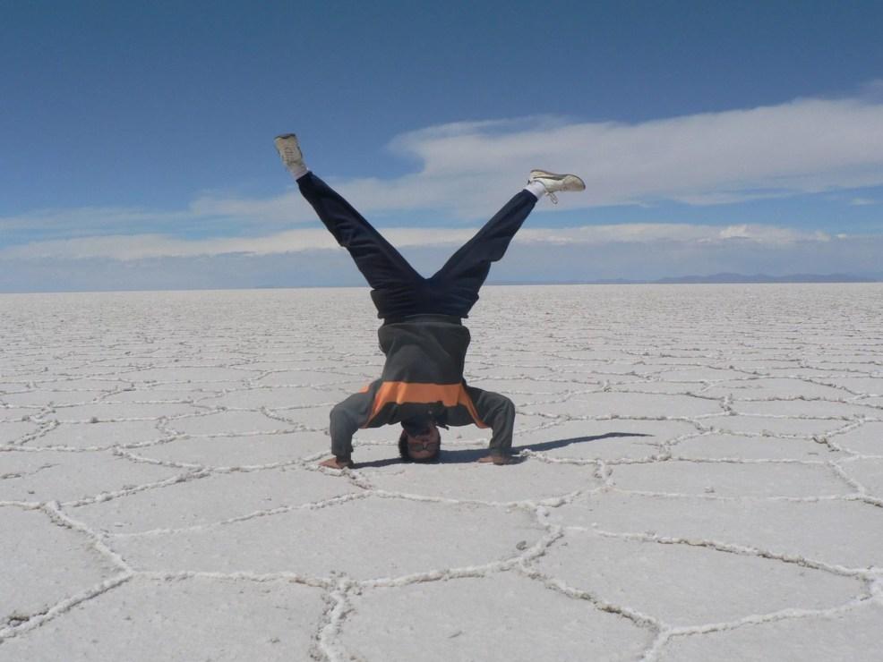 Autostop Magellan, Salar de Uyuni.