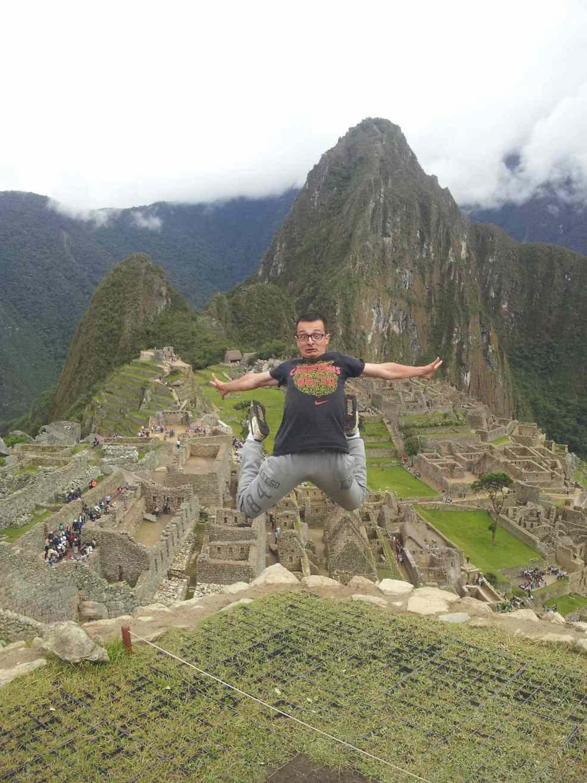 Autostop Magellan, Machu Pichu.