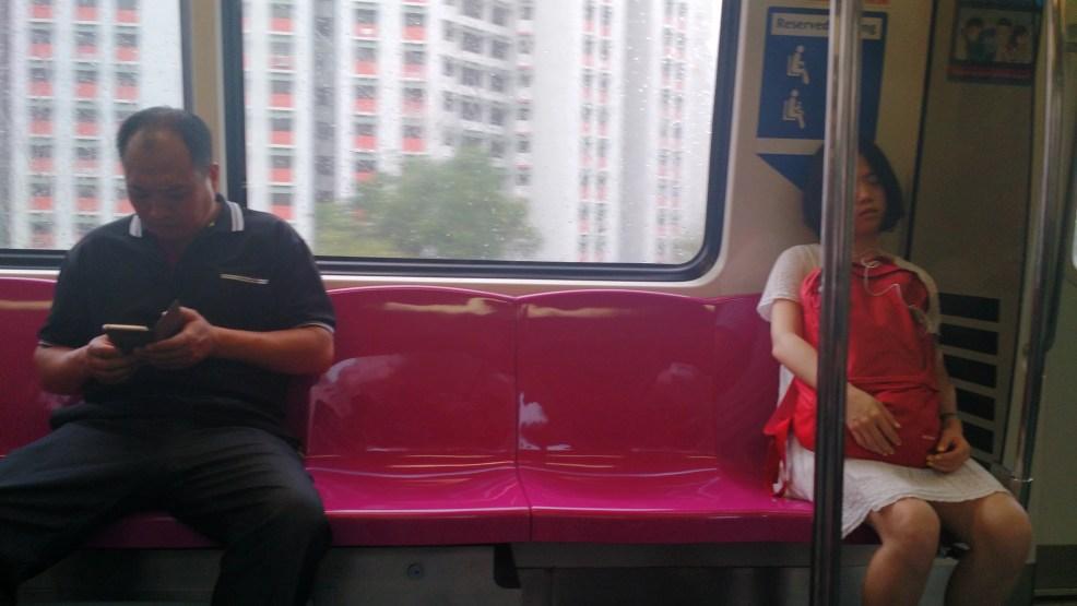 Travel Singapore by metro.