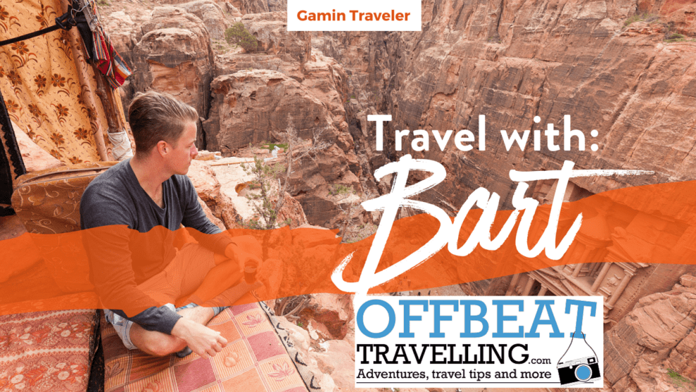 Travel Interview with Bart of Offbeat Travelling Travel Blog - Featured Image