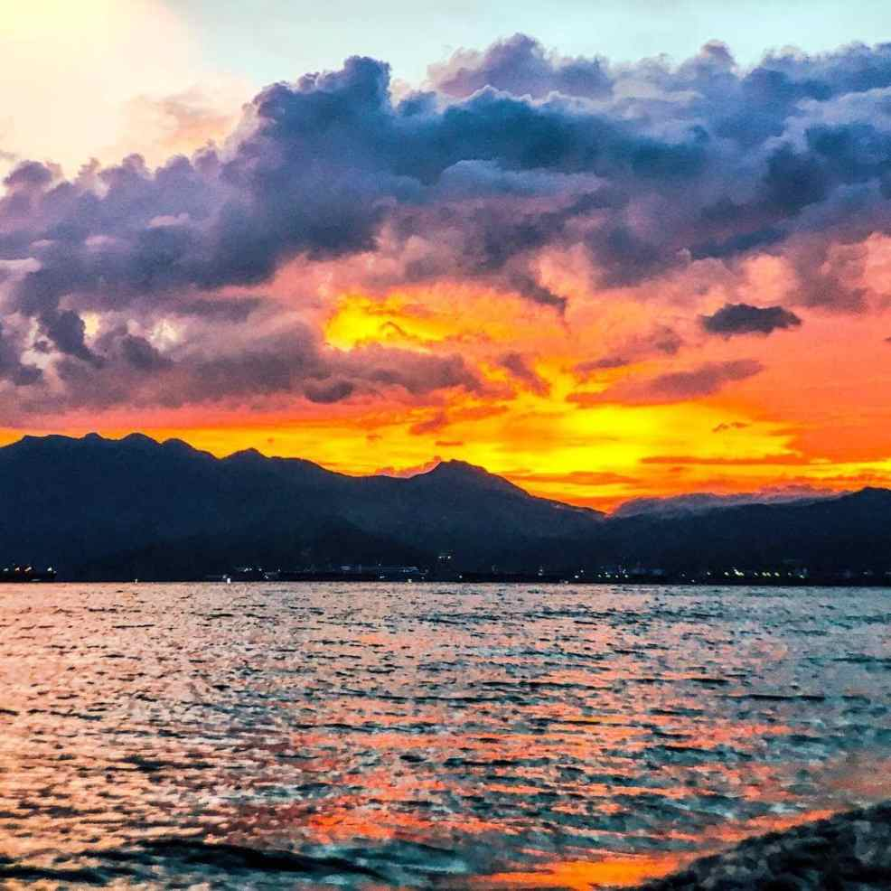 Sunset at Subic
