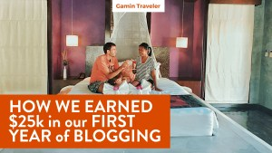 How we earned $25K on our first year of blogging