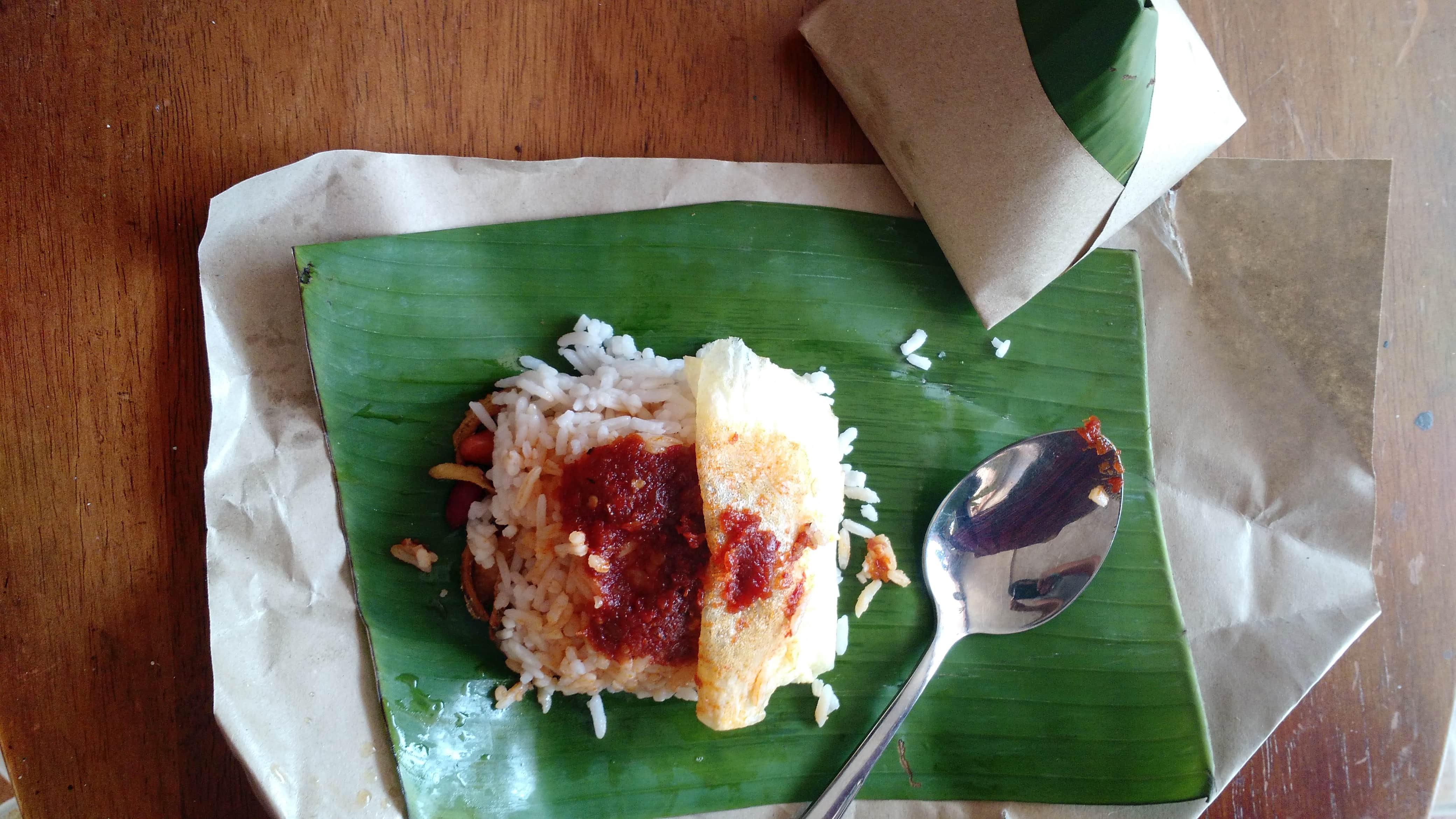 Nasi Lemak in historical Penang