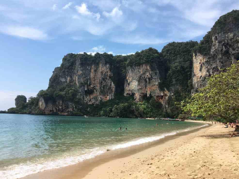 Thailand beaches: Ton Sai, Thailand tourist spots
