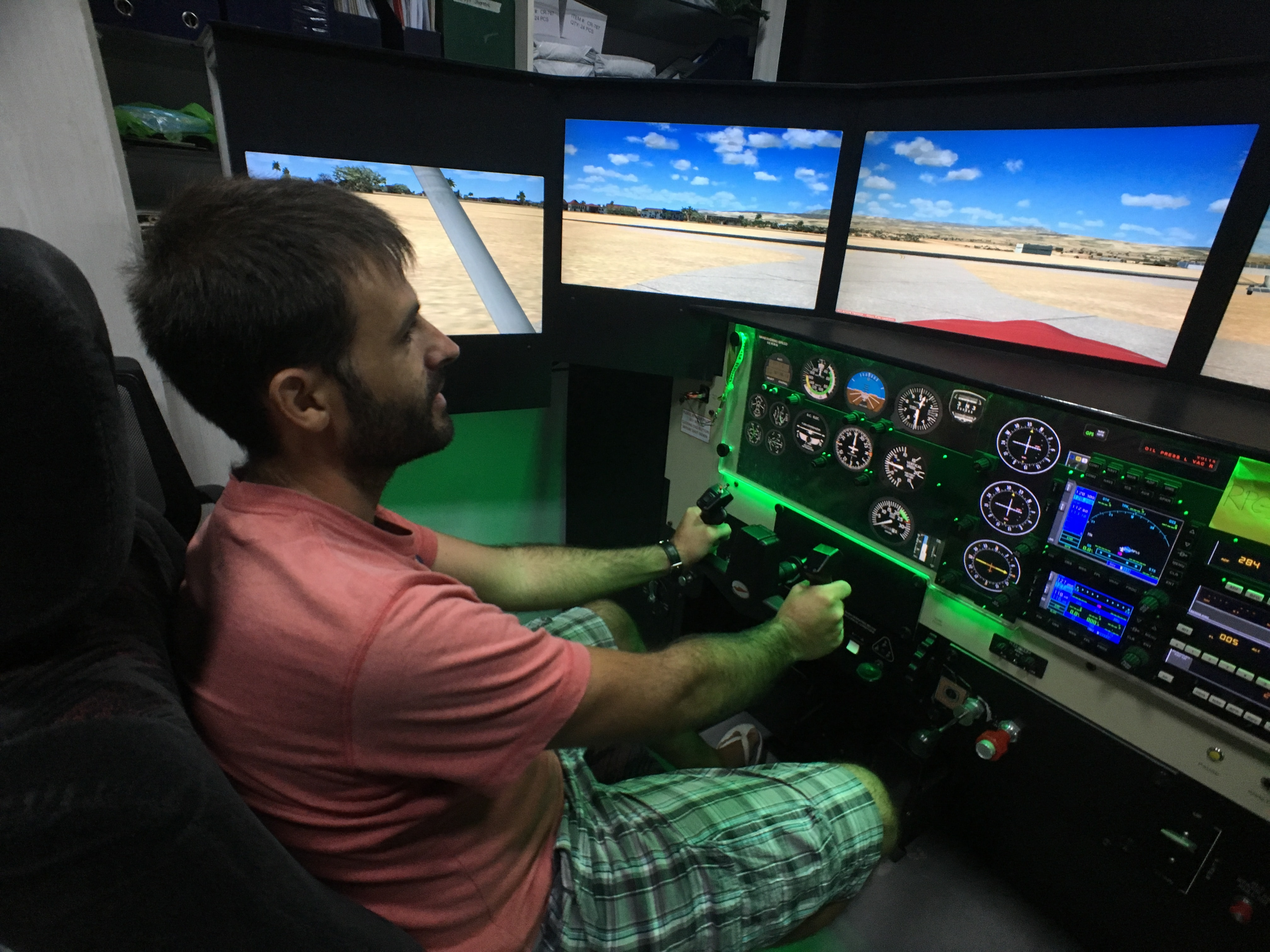 Flying with Omni Aviation